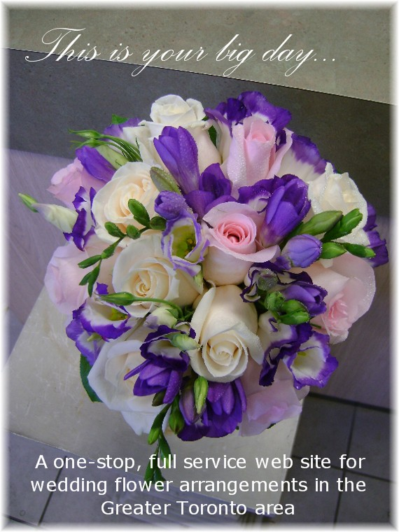 Toronto Wedding Florist - Front Cover